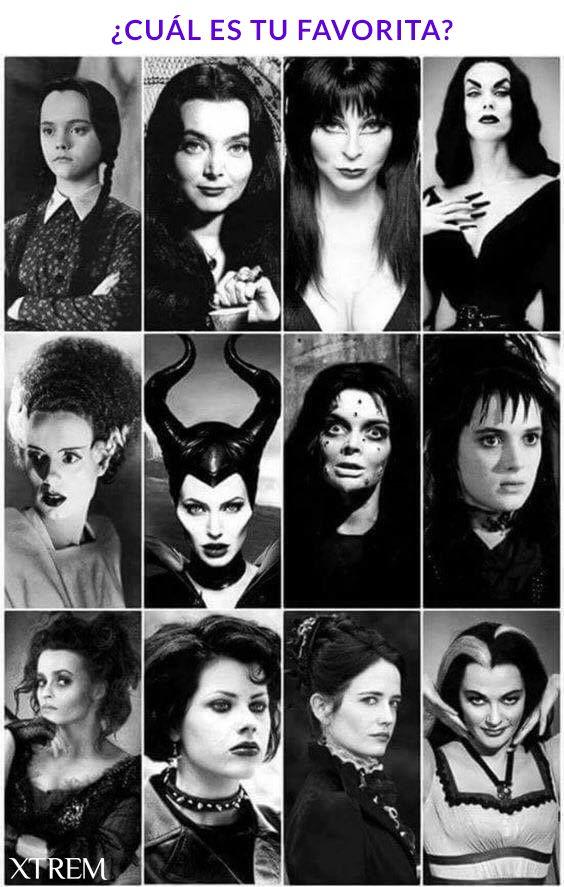 Gothic Ladies #goth