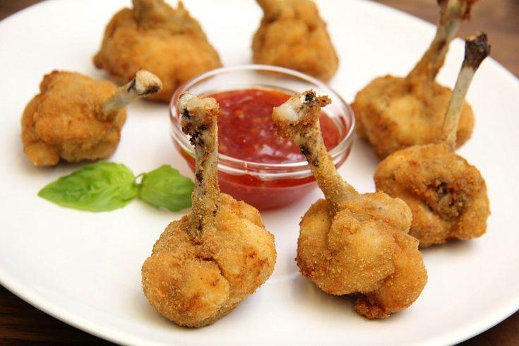 Куриные крылья в панировке | Рецепт | Идеи для блюд ...