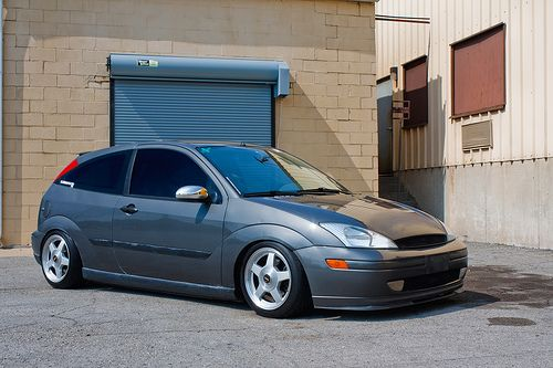 grey ford focus mk1 low big rims ford focus st tuning. Black Bedroom Furniture Sets. Home Design Ideas