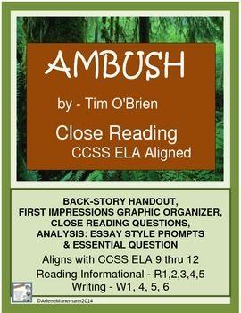 ambush by tim o brien short story