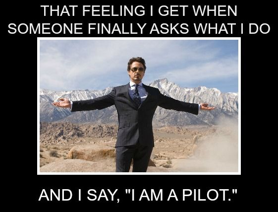 I am a pilot!   #avaitionhumor #iamapilot #flyday #fridayfeeling #whattooksolongtoask #flyingisahabit