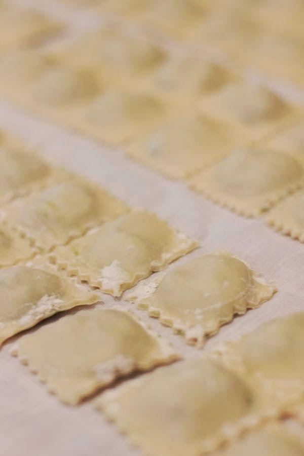 how to make homemade pasta ravioli via @mystylevita {My Style Vita}