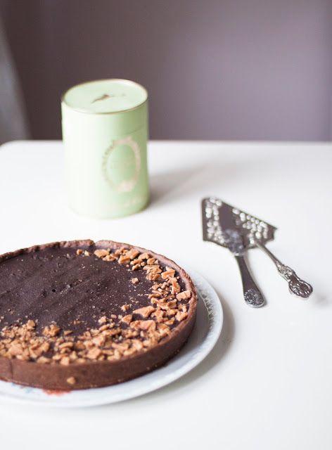 Tarte chocolat et praline de Laduree