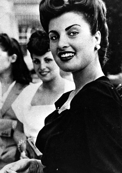 Silvana Pampanini in 1946. (Photo by Italian press agency ANSA.)
