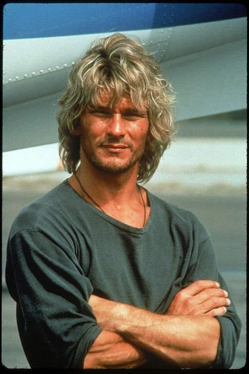 Point Break! Patrick Swazey, what a handsome young man.