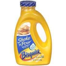 Homemade shake n pour pancake mix for camping