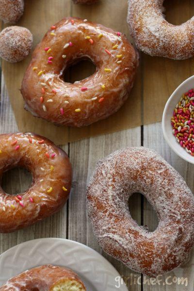 Orange-Fennel Cake Doughnuts