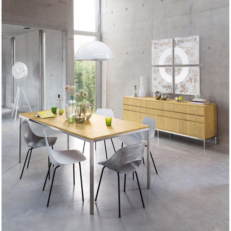 maison du monde buffet anrichte aus recyceltem kiefernholz b cm chevron maisons du monde with. Black Bedroom Furniture Sets. Home Design Ideas
