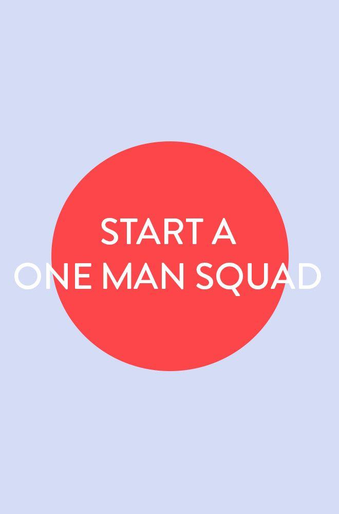 Start A One Man Squad Lookbook | Men at Work Online Store