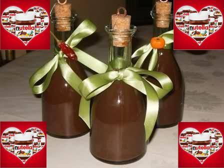 Come fare liquore alla nutella