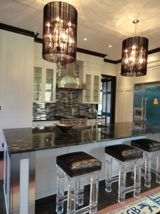 hollywood glam the lucite bar stools chandeliers