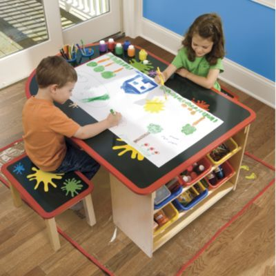 Good Arts And Crafts Table Kids Pinterest