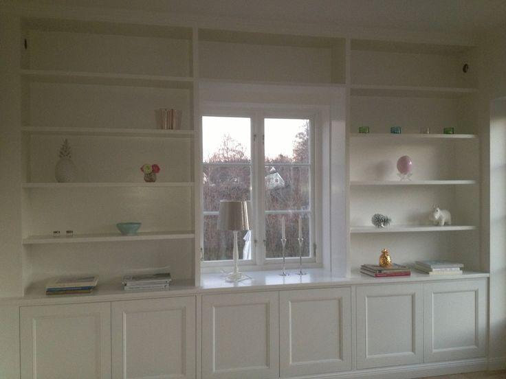 platsbyggd förvaring köksskåp och bokhyllor ikea - Sök på Google