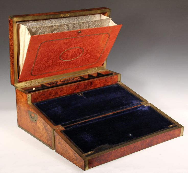 Sea Captains Writing Box Nautical amp Old Salts