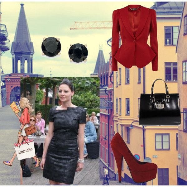 """Any Black Dress & the Business Look 295 Euro"" by anyblackdress on Polyvore"