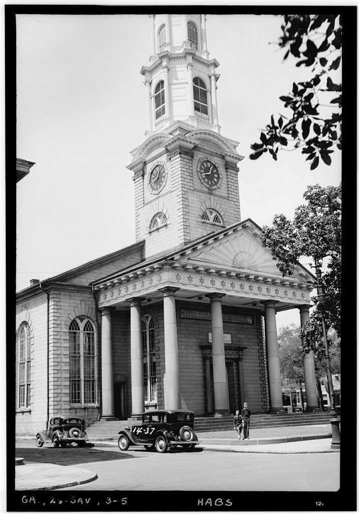 Sample Front Elevation Church : Front elevation independent presbyterian church