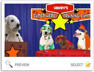 Ultimate Super Hero dog ecard
