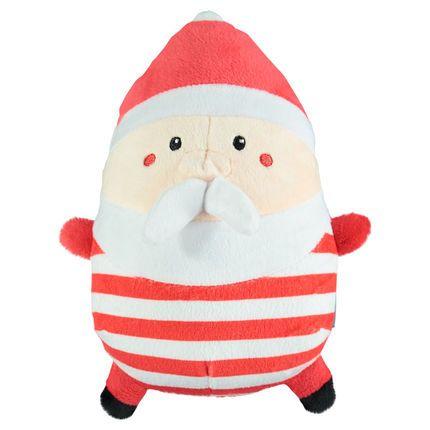 Peluche en velours forme Père Noël  ★• ˚ ˚ • Christmas Time • ˚ ˚ •★  #Christmas #noel #Xmas #gift #fashion