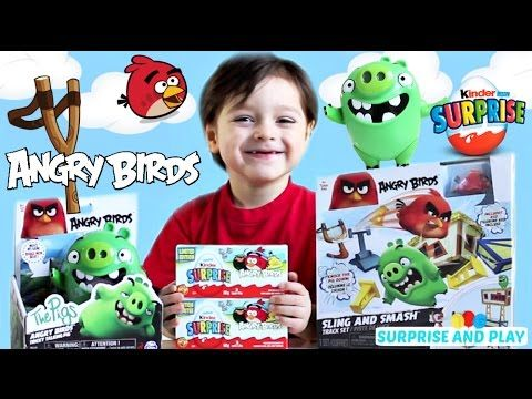 Angry Birds Sling and Smash and Tricky Talking Pig