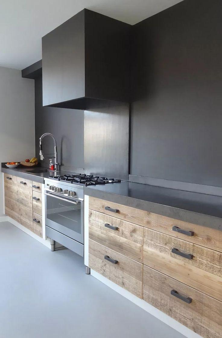 Oltre 25 fantastiche idee su cassetti della cucina su pinterest soluzioni per organizzare i - Colore parete cucina noce ...