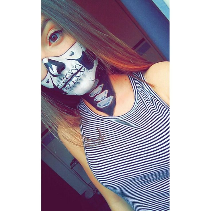 #Skull #Masque #Bodypainting #Makeup