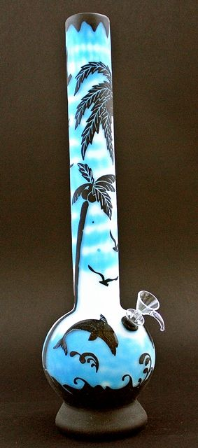 Smoked Out Pipes   Online Head Shop - Metallic Soft Glass Water Pipe , $70.99 (http://www.smokedoutpipes.com/metallic-soft-glass-water-pipe/)