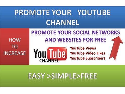 How to Promote Your YouTube Channel and Get More Subscribers