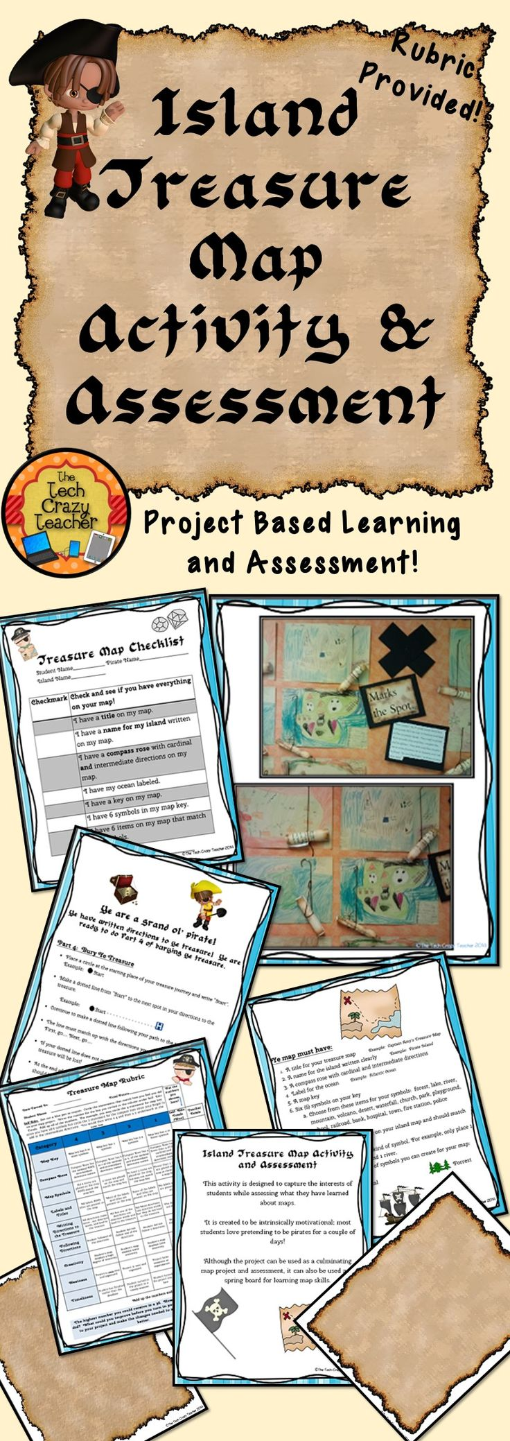 project based learning treasure map