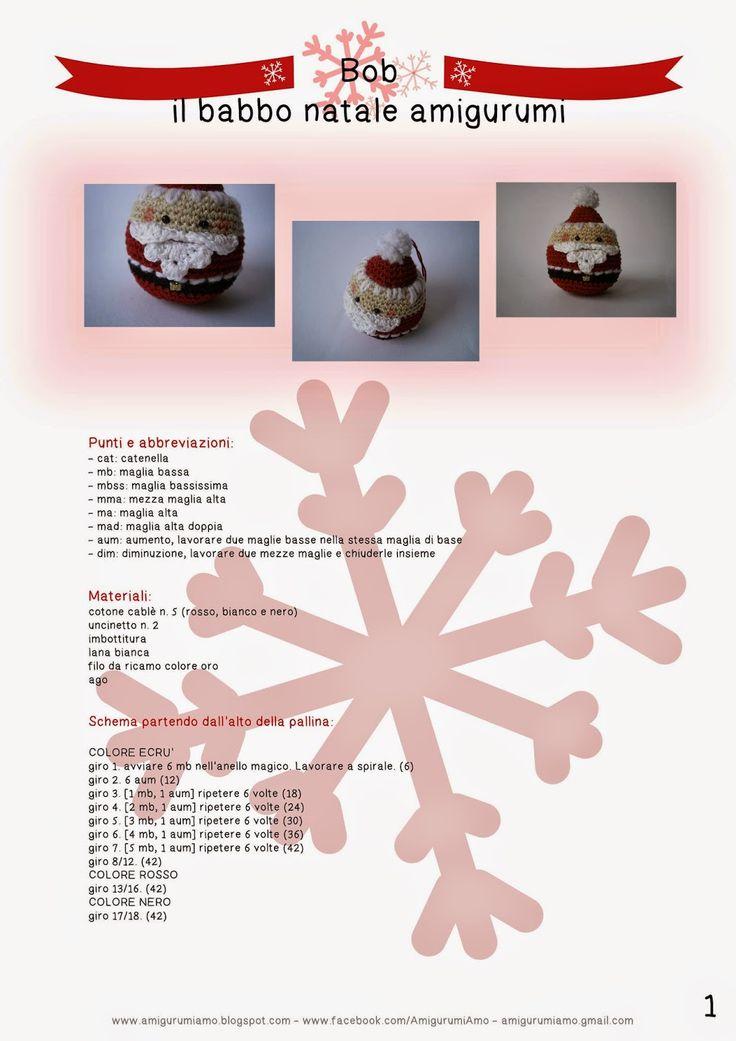 AmigurumiAmo: Santa Claus, free pattern, not in English
