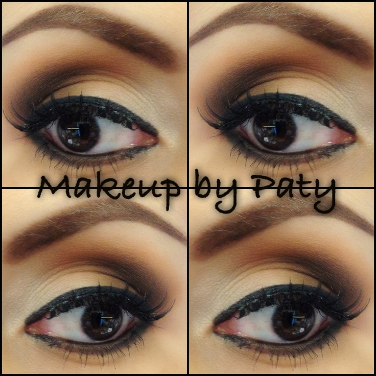 15 best images about Brown eye makeup on Pinterest   Neutral eyes ...