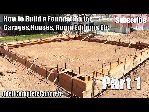 how to build a concrete patio youtube