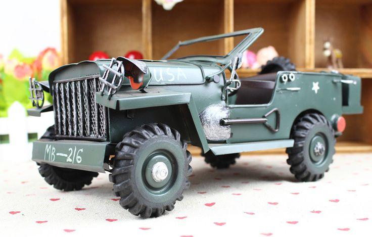 Retro JEEP SUV model,Toys&Hobbies