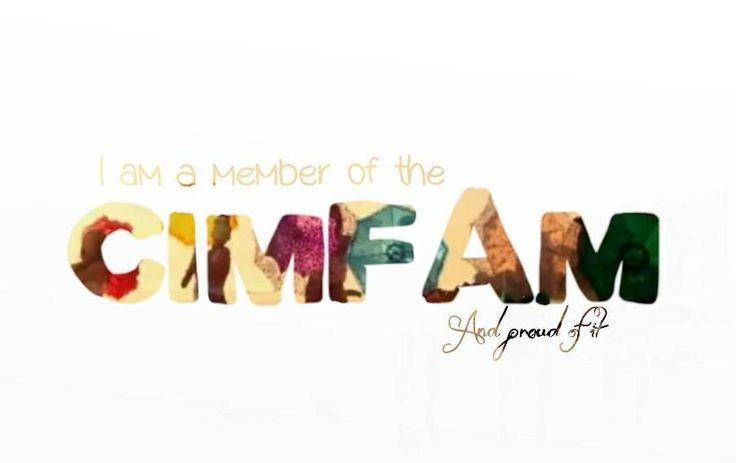 I am a member of the CimFam and proud of it #Cimorelli