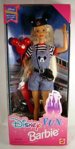 Disney Fun Barbie Yep that is what you look like at Disney