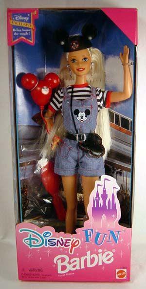 Disney Fun Barbie Yep that is what you look like at Disney