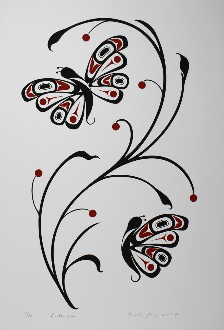 Butterflies - Limited Edition Serigraph Carol Young