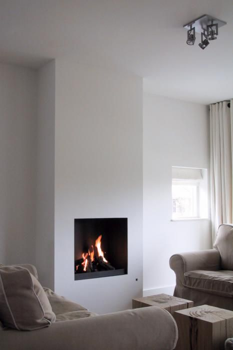 10 images about moderne inbouw haard on pinterest modern fireplaces models and tvs - Open haard moderne ...