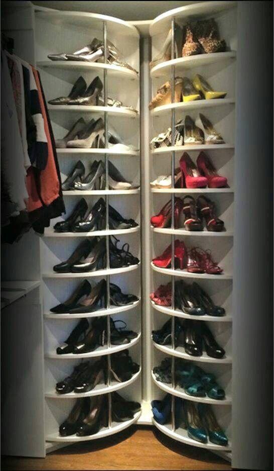 Mejores 27 im genes de zapatos en pinterest zapatos for Armario zapatero giratorio