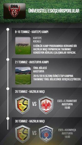 Eskişehirspor l Etkinlik Takvimi