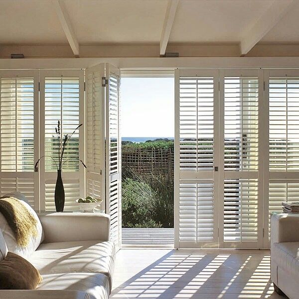 48 Best Plantation Shutters Images On Pinterest Plantation Shutter Window Treatments And