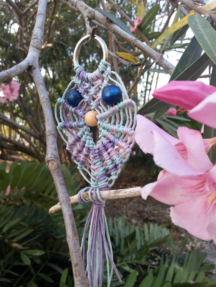 20cm - rainbow hemp string - $9 - rusticblue9@gmail.com
