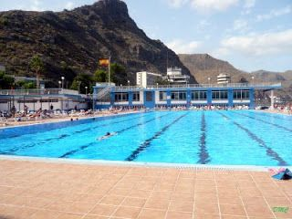 17 mejores im genes sobre public pools water parks for Piscina julio navarro