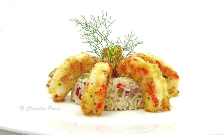 Foods ! : Gamberoni gratinati con riso alla greca by claupost