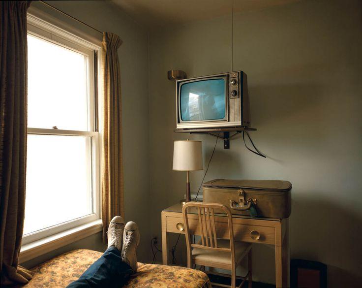 Stephen Shore, Uncommon Places Series: Room 125, Westbank Motel, Idaho Falls, Idaho, July 18, 1973