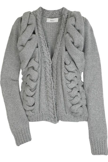 PRINGLE OF SCOTLAND | Knitted cashmere cardigan ($1,795)