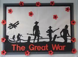 My ww1 classroom display