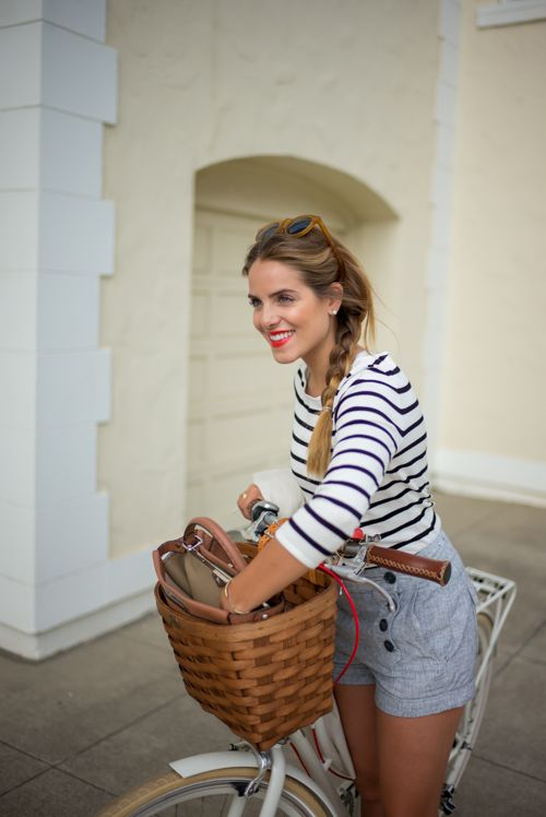Biking In The City - Gal Meets Glam