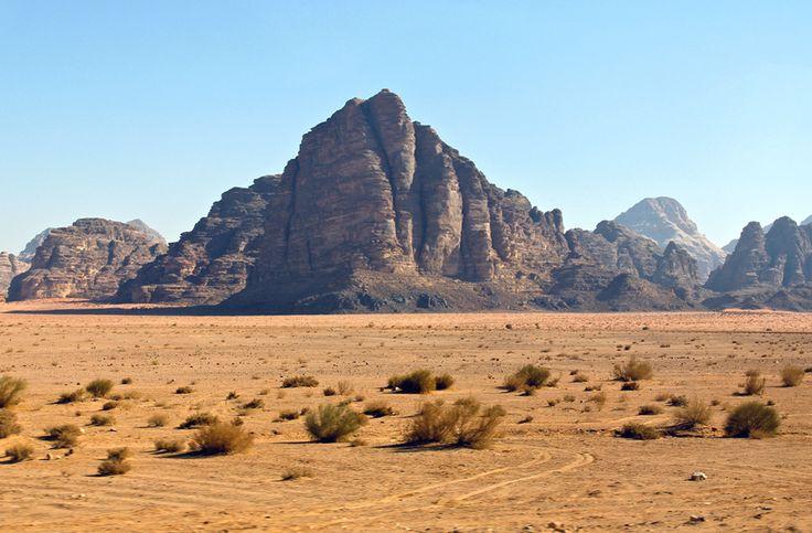 The Seven Pillars of Wisdom, Wadi Rum, Jordan