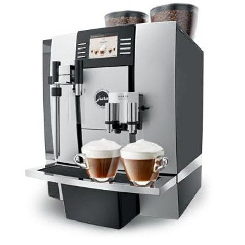 Jura Giga X9 - Combining multiple heating and fluid systems, including 3 thermoblocks and 3 pumps, the GIGA X9 Professional can prepare two drinks simultaneously from an extensive range of specialty coffees.