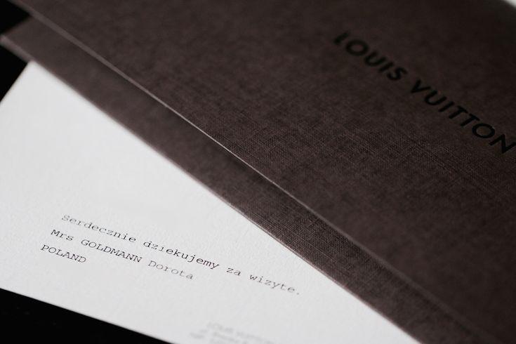 Dowód zakupu torebki Louis Vuitton